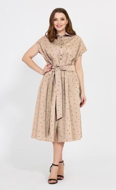 Dress Mubliz 525 bezh