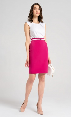 Skirt Panda 54050z malinovyj