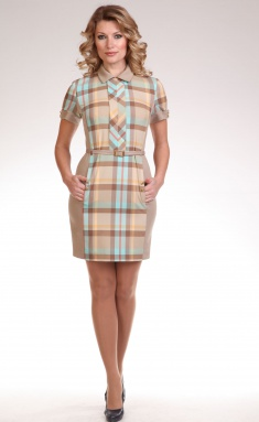Dress Lady Style Classic Outlet 549 bezh