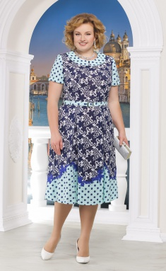 Dress Ninele 5522 sinie cv