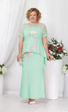 Dress Ninele 5536 svetlozelenyj