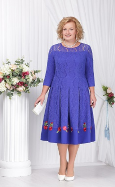 Dress Ninele 5573 vasilek
