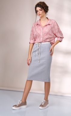 Skirt Golden Valley 56203 bezhevo-ser