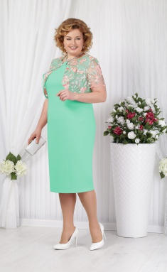 Dress Ninele 5621 svetlozelenyj
