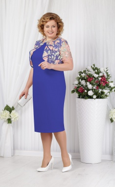 Dress Ninele 5621 vasilek