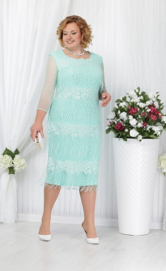 Dress Ninele 5622 svetlozelenyj