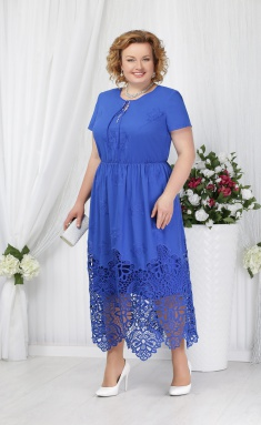 Dress Ninele 5631 vasilek