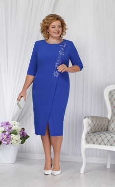 Dress Ninele 5652 vasilek