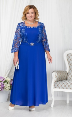 Dress Ninele 5657 vasilek