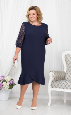 Dress Ninele 5668 sinij