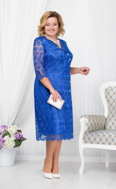 Dress Ninele 5673 vasilek