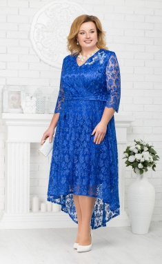 Dress Ninele 5678 vasilek