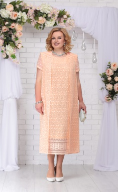 Dress Ninele 5720 persik