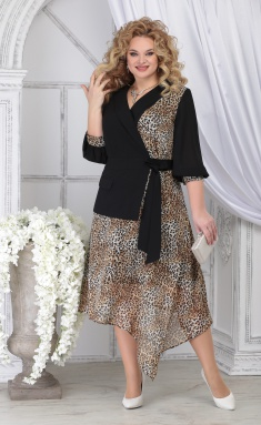 Dress Ninele 5821 leopard