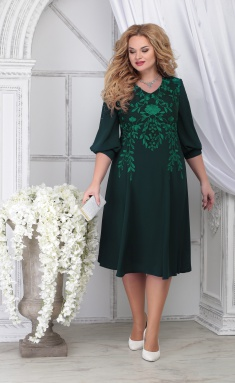 Dress Ninele 5822 izumr