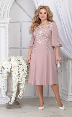 Dress Ninele 5822 pudr