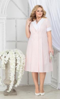 Dress Ninele 5824 pudr