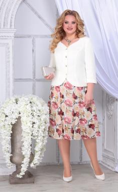 Suit Ninele 5839 zheltye rozy