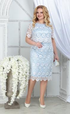 Dress Ninele 5843 bel + gol