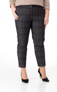Trousers BelElStyle 586 sero-chernaya kletka