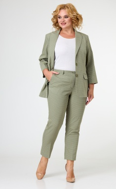 Trousers BelElStyle 586 oliva