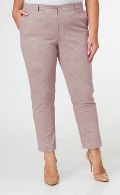 Trousers BelElStyle 586 pudra v gorox