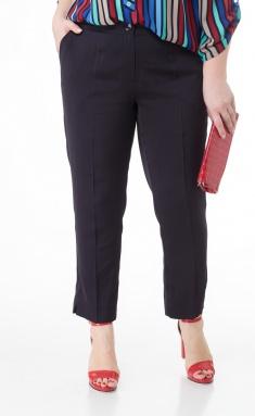 Trousers BelElStyle 586 sinij atlas