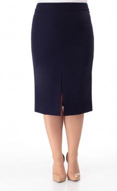 Skirt BelElStyle 597 sinij