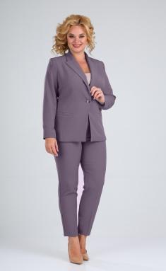Suit Vilena-fashion 603-1 kakao