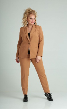 Suit Vilena-fashion 603 karamel