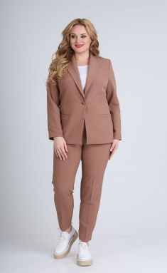 Suit Vilena-fashion 603 kakao