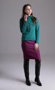 Sweatshirt Amori 6060 izumr 164