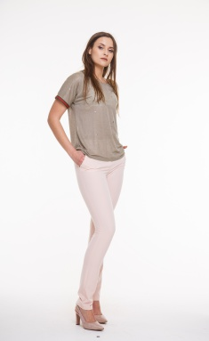 Trousers Amori 5017 pudr 164