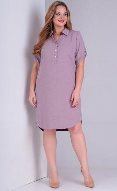 Dress Vasalale 00616 roz-fiol
