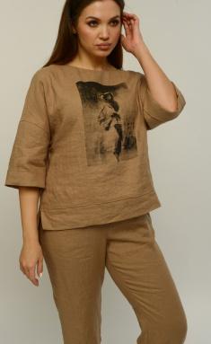 Blouse MALI 621-031 kapuchino