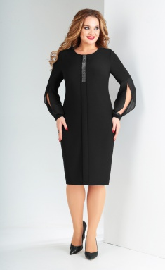 Dress Vilena-fashion 629 chern