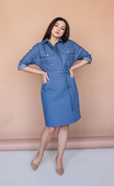 Dress Angelina Design Studio 636 sinij