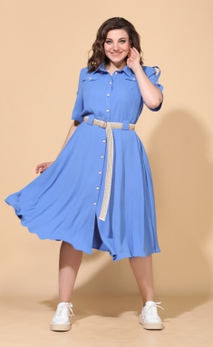 Dress Vilena-fashion 642 sv.gol
