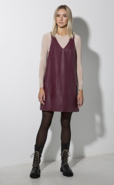 Dress SODA 0509 bordo