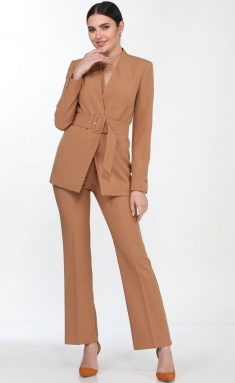 Suit Vilena-fashion 646 karamel