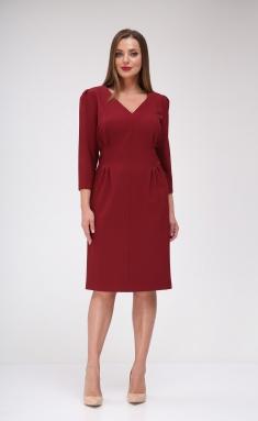 Dress Vilena-fashion 658 vin