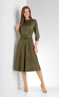 Dress Vilena-fashion 662 xaki