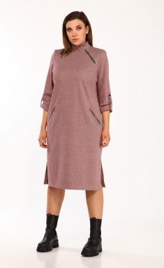 Dress Vilena-fashion 663 bordo