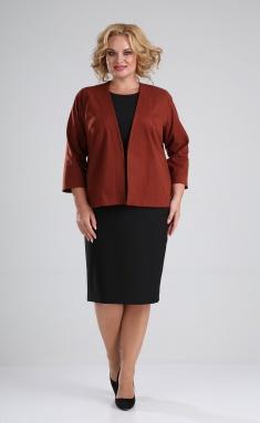 Suit Vilena-fashion 667 shok+chern