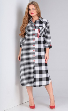 Dress Vasalale 678 chern/kr