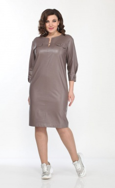 Dress Vilena-fashion 687 kapuchino