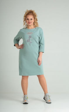 Dress Vilena-fashion 688 sv.zel