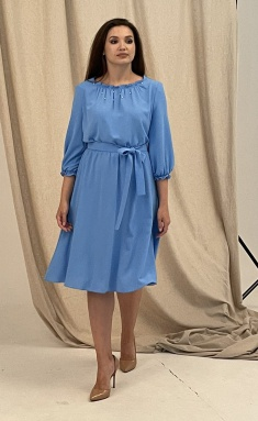Dress Angelina Design Studio 0690 goluboj