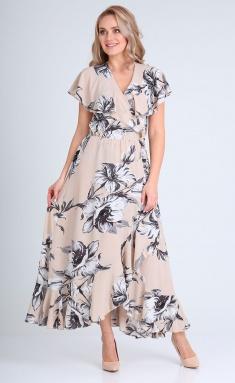 Dress Vasalale 00691 bezh