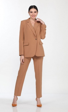 Suit Vilena-fashion 694 karamel